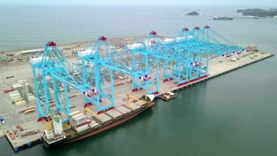 Photo of APM Terminals' Moín Container Terminal Receives Its First Vessel