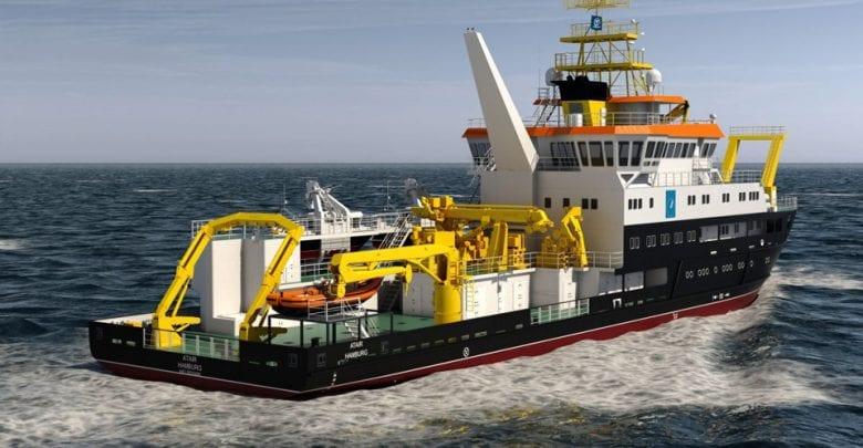 GERMAN LNG RESEARCH NEWBUILD IS ON TRACK