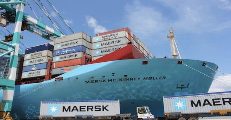 Maersk and Dutch multinationals in biofuels pilot on ultra-large containership