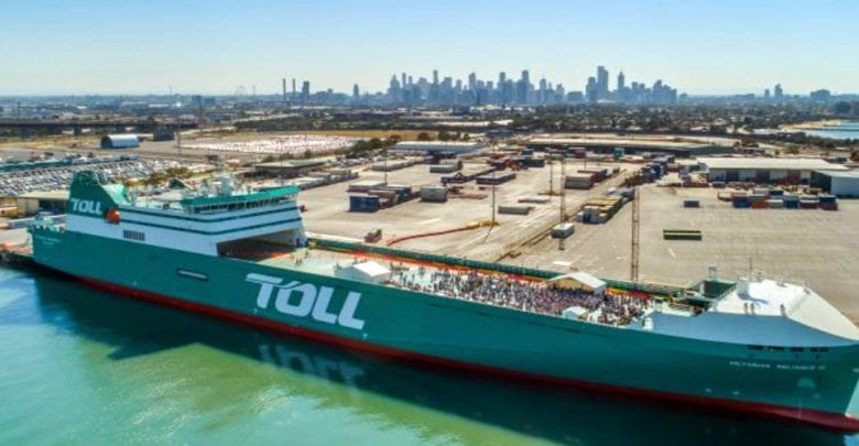 RO-RO BOOST TO BASS STRAIT TRADE