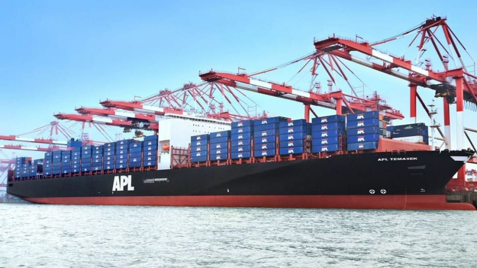 APL launching new China - US East Coast service