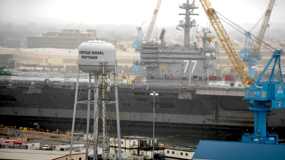 Digital Twin Modeling Guides U.S. Navy's $21B Shipyard Plan