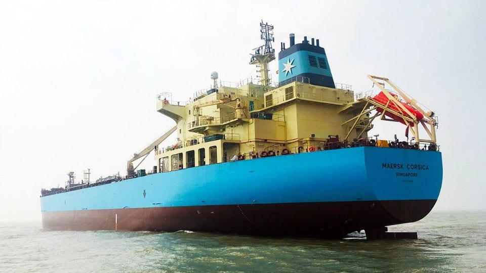 Maersk Tankers Receives Sixth MR Unit from Samsung Heavy