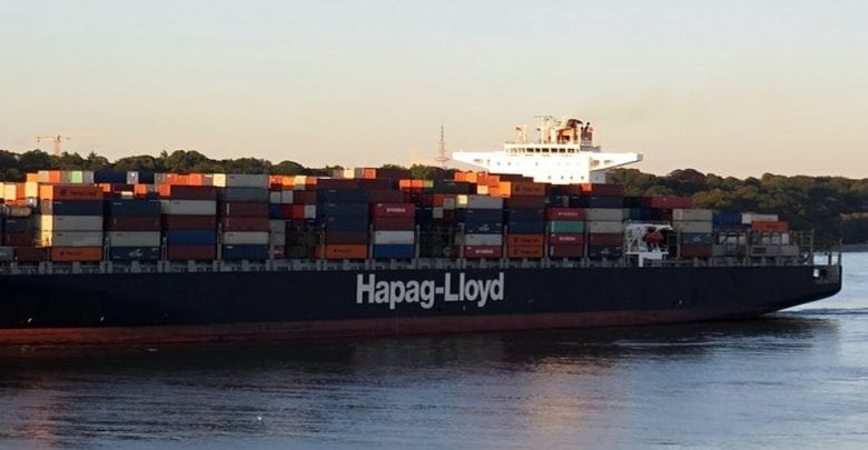 Hapag-Lloyd Yantian Express Likely to Leave Freeport by Mid-May
