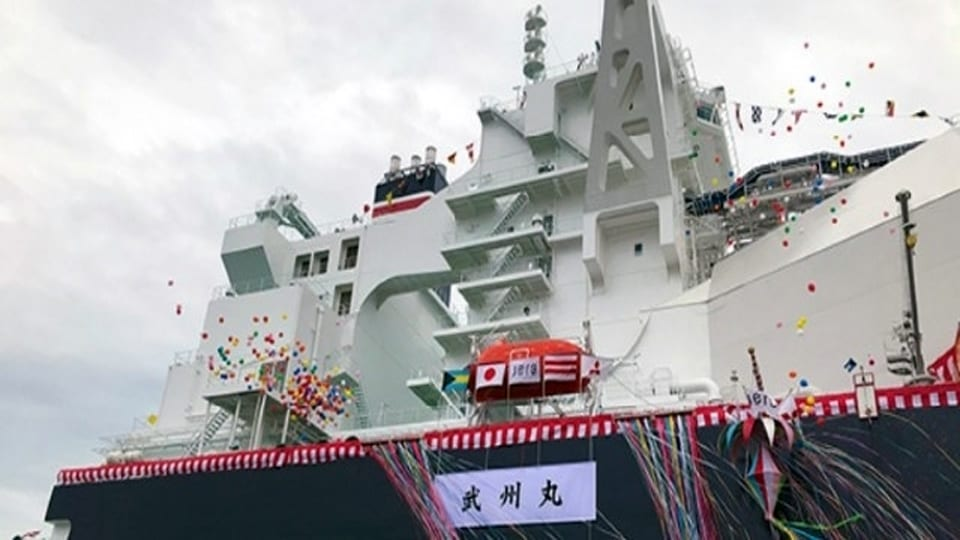 Innovative LNG carrier will carry LNG from US to Japan