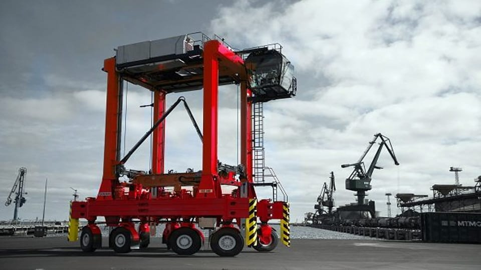 Italy's Largest Terminal Invests in Kalmar Eco Equipment