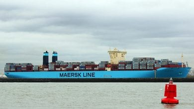 Maersk Patras Crewman Falls Overboard, Search Suspended