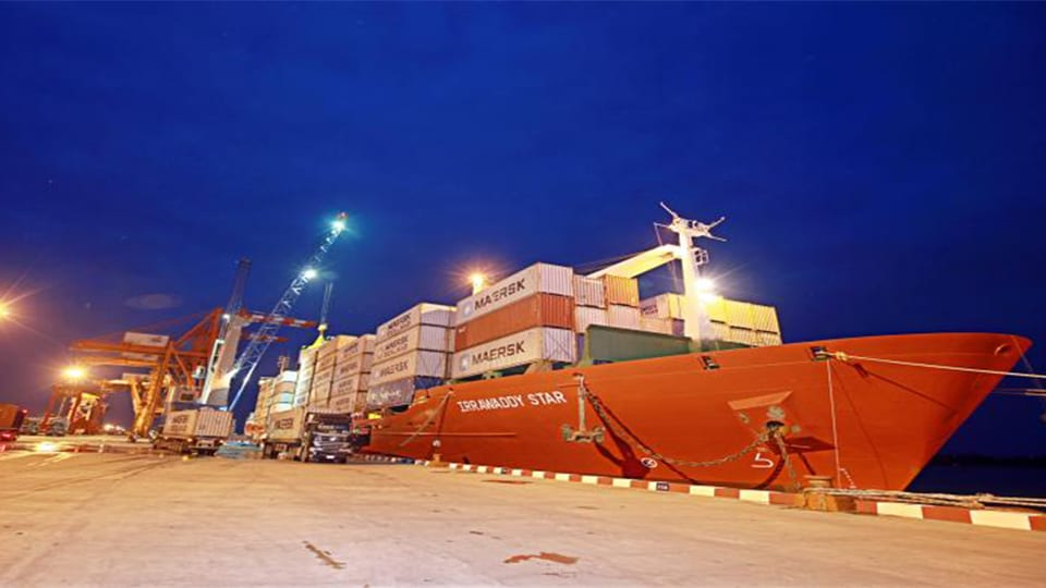 ADANI PORTS VENTURES OUTSIDE INDIA FOR FIRST TIME