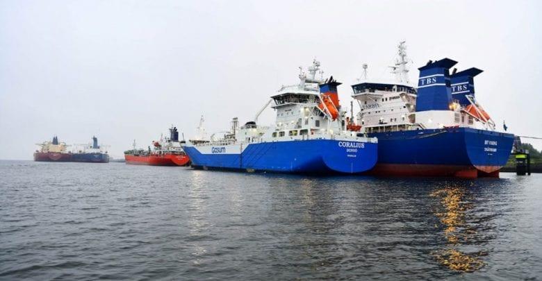 Gasum's Coralius Marks Bunkering Milestone in Rotterdam