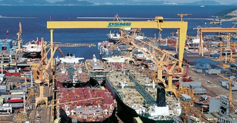 S. Korea regains top spot in May shipbuilding orders