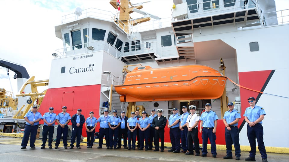 Seaspan Delivers First Large Vessel Built Under Canada's National Shipbuilding Strategy