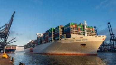 Hong Kong Seaport Alliance welcomes giant OOCL boxship