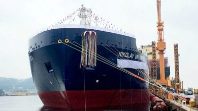 Photo of Ice-breaking LNG carrier readied for Northern Route