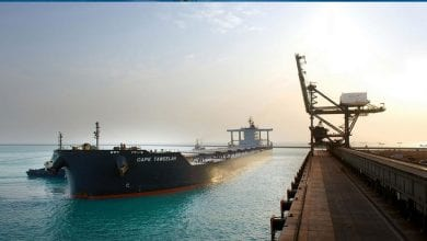 Photo of LARGEST EVER BULK CARRIER CALLS AT KHALIFA PORT