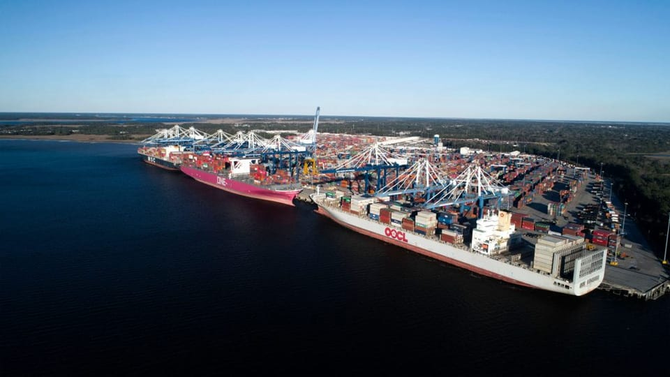 Record Year in 2019 for South Carolina Ports