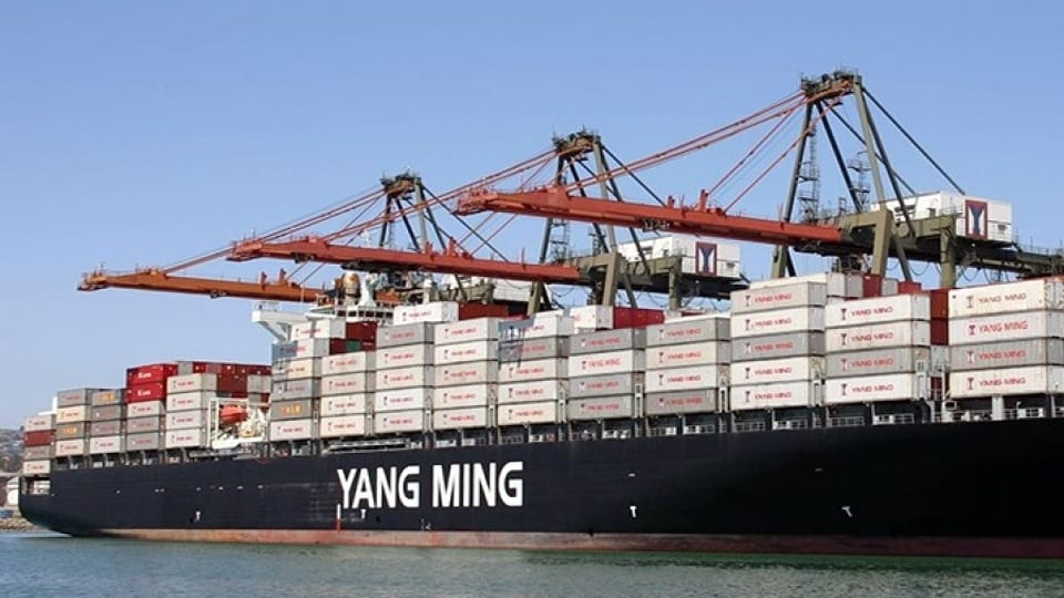 Yang Ming installing Sperry Marine's VisionMaster Net on 10 feederships