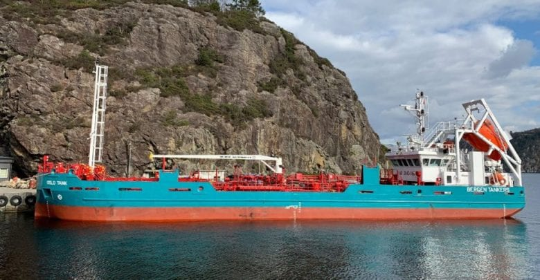 Bergen Tankers to Convert Ship into LNG Bunker Unit
