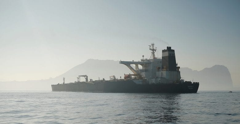 Greece Says No Request Made for Iranian Oil Tanker to Dock