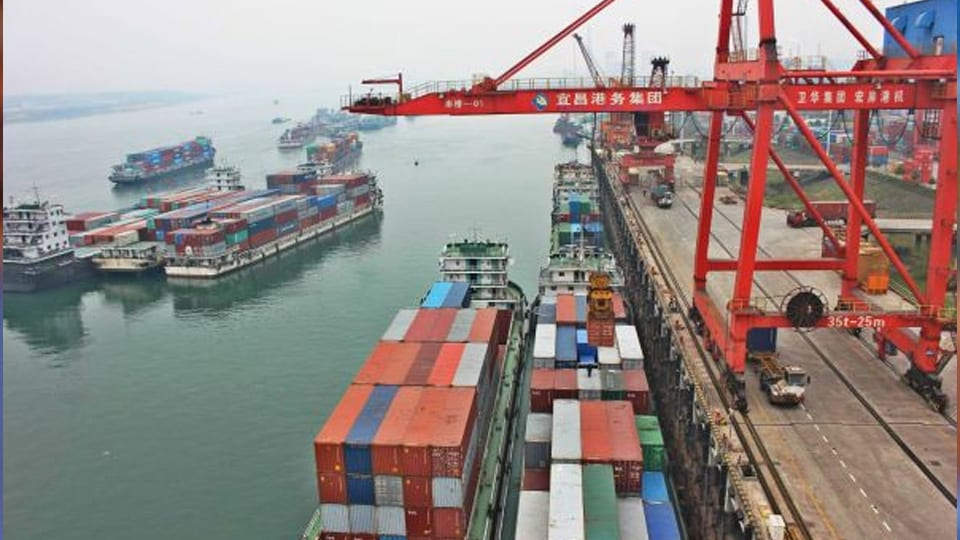 New Chinese terminal starts operation in Hubei