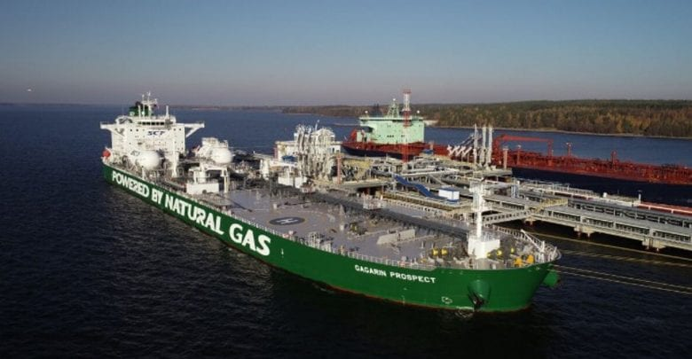 Sovcomflot Large LNG-Fueled Crude Oil Tanker to Transit NSR for 1st Time