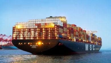 World's Largest Boxship Wraps Up Maiden Voyage