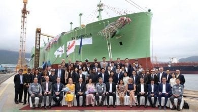 BW LNG Holds Naming Ceremony for LNG Carrier Duo in Korea