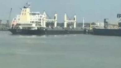 Photo of Bulker Crashes into Pier at China's Grain Terminal