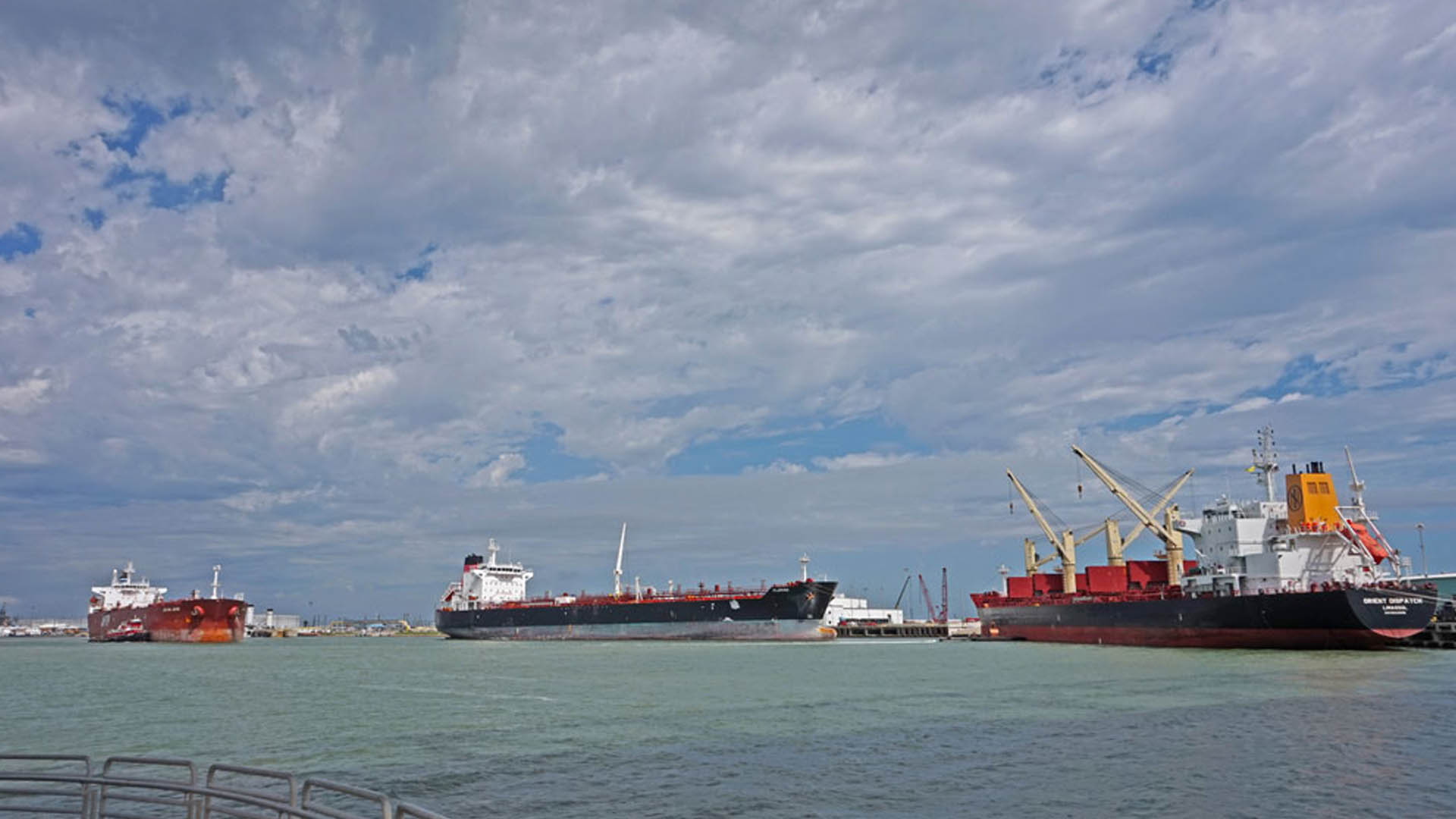Eagle Ford Terminals Receives First Vessel at New Dock