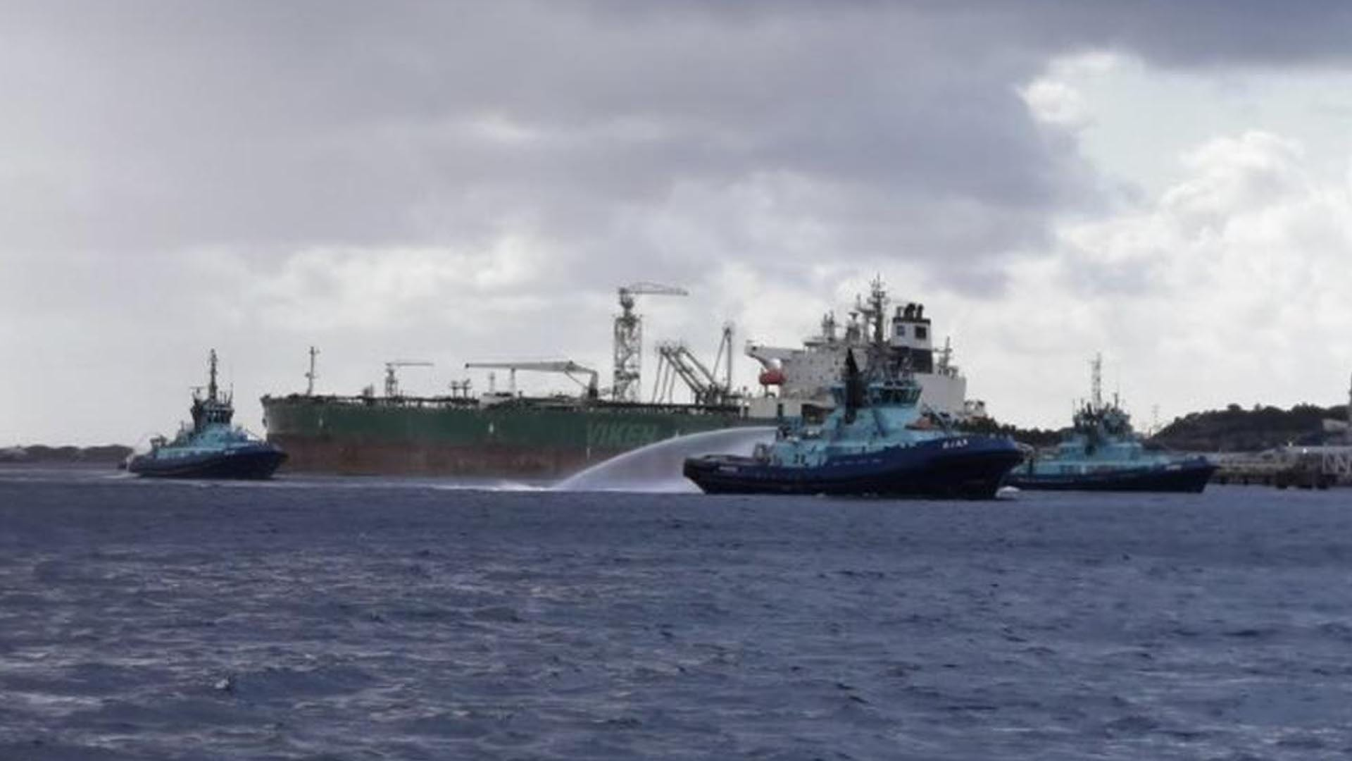 Fire Erupts aboard Tanker at Norway's Sture Terminal