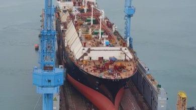 Hyundai Heavy Splashes Flex LNG's New Vessel