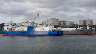 LNG Bunker Vessel Kairos in Further Baltic Sea Firsts