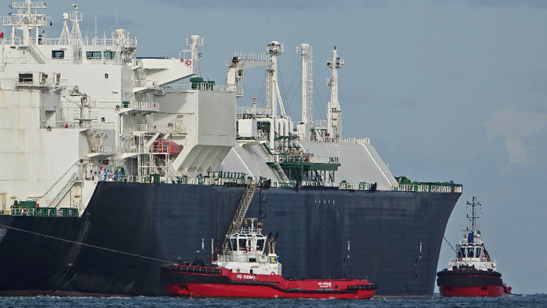 LNG Carrier Loads 1st Freeport LNG Commissioning Cargo