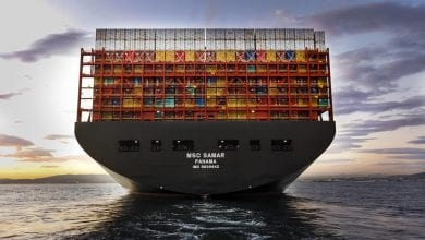 MSC Third 23,000 TEU Boxship Named in Bremerhaven