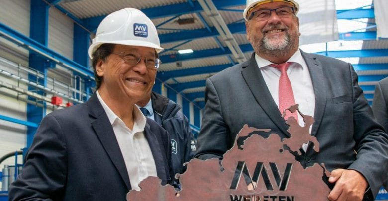 MV Werften Cuts Steel for Dream Cruises' 2nd Global Ship