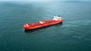 Odfjell Takes Delivery of World's Largest Stainless Steel Chemical Tanker 1