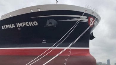Photo of Seized Stena Impero Leaves Iran, Owner Confirms