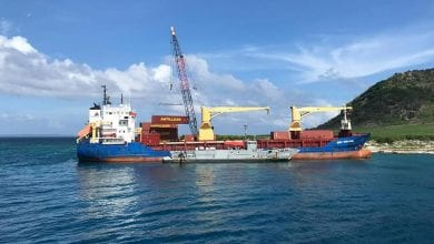 Cargo Ship Refloated after Grounding off Dominican Coast