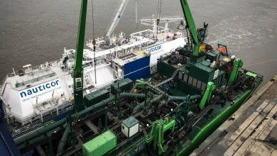 Nauticor: 1st Ship-to-Ship LNG Bunkering Op Carried Out in Germany