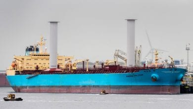 Photo of Norsepower Rotor Sails Achieve 8.2% of Fuel Savings on Maersk Pelican