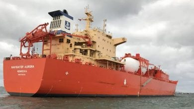 Ocean Yield Buys Ethylene Gas Carrier with Long-Term Charter