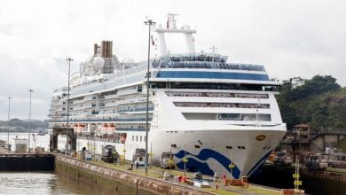 Photo of Princess Cruises Vessel Opens Panama Canal's Cruise Season