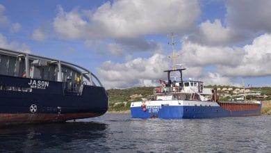 Stranded Freighter Rhodanus Refloated in Strait of Bonifacio