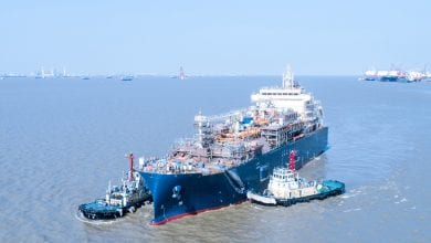 Total Launches Its 1st Boxship Giant-Ready LNG Bunker Vessel