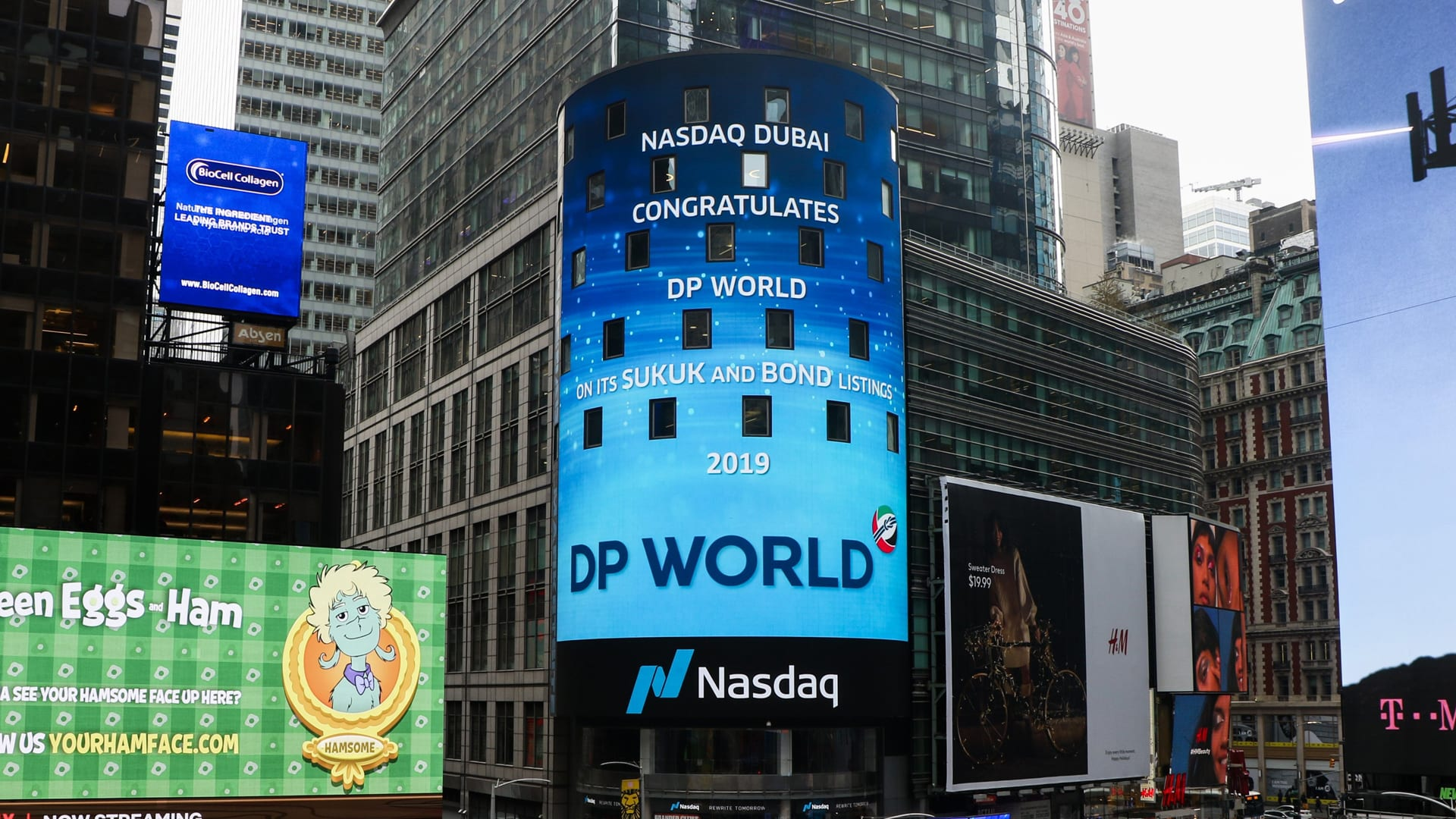 DP World Rings Nasdaq Dubai Bell after USD 2.3 Bn Listing