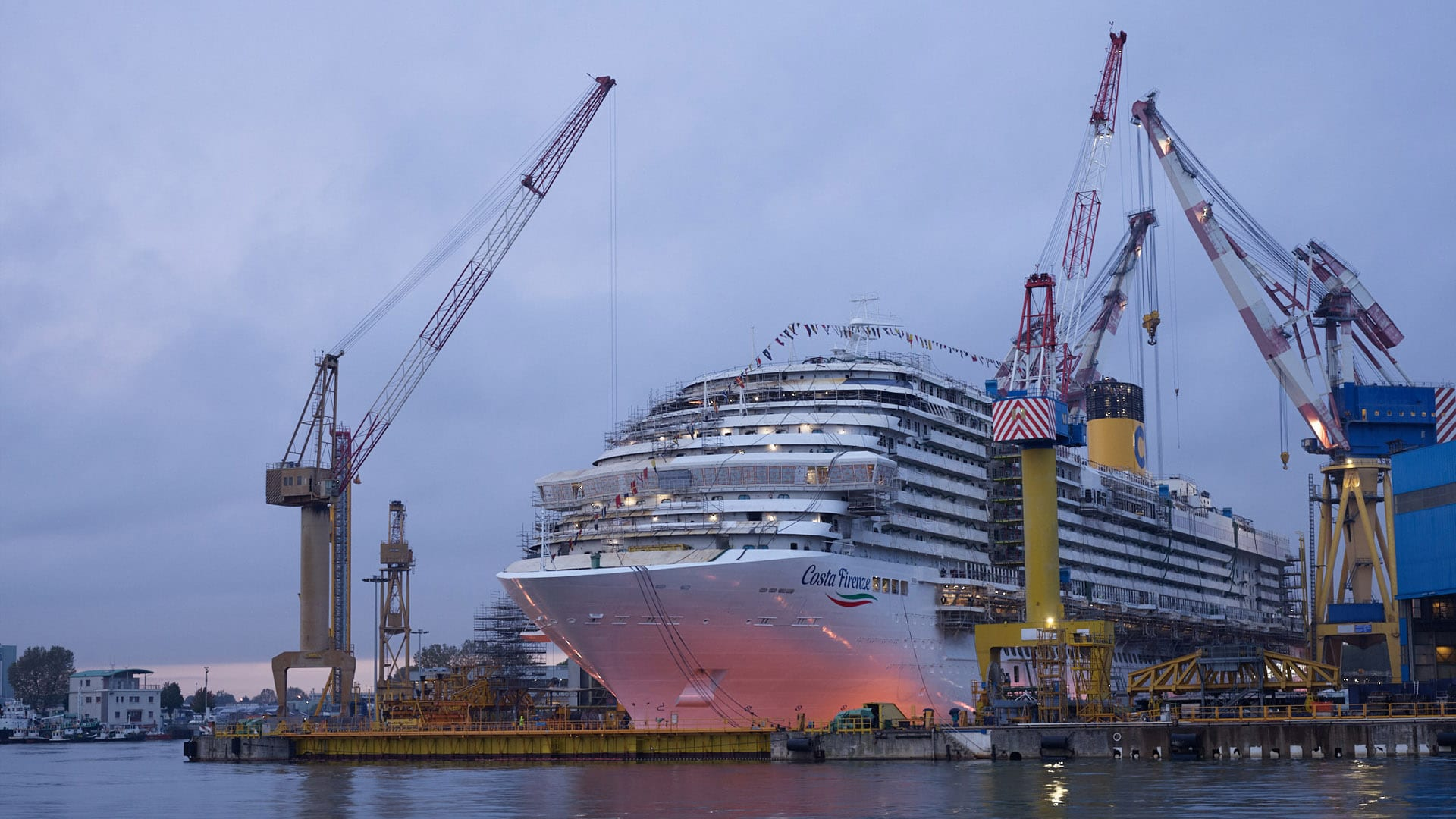 Fincantieri Splashes Costa Firenze