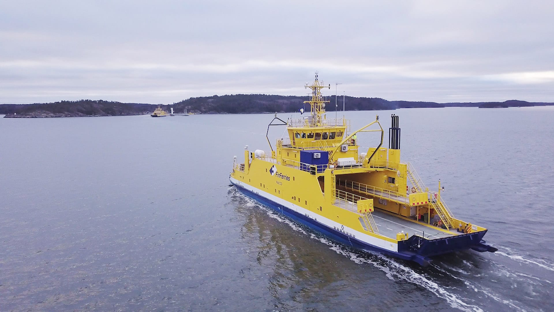 Finland to Build Another Hybrid Electric Ferry