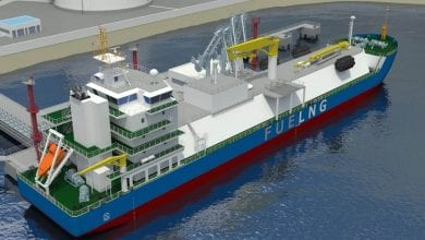 Photo of K Line to Manage FueLNG's Singapore LNG Bunker Vessel