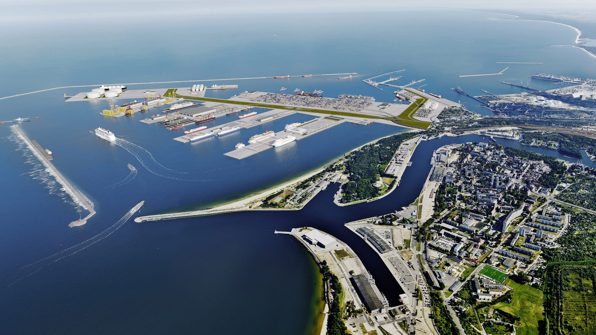 PSA International Wants to Grow DCT Gdansk's Capacity to 7 Mn TEUs