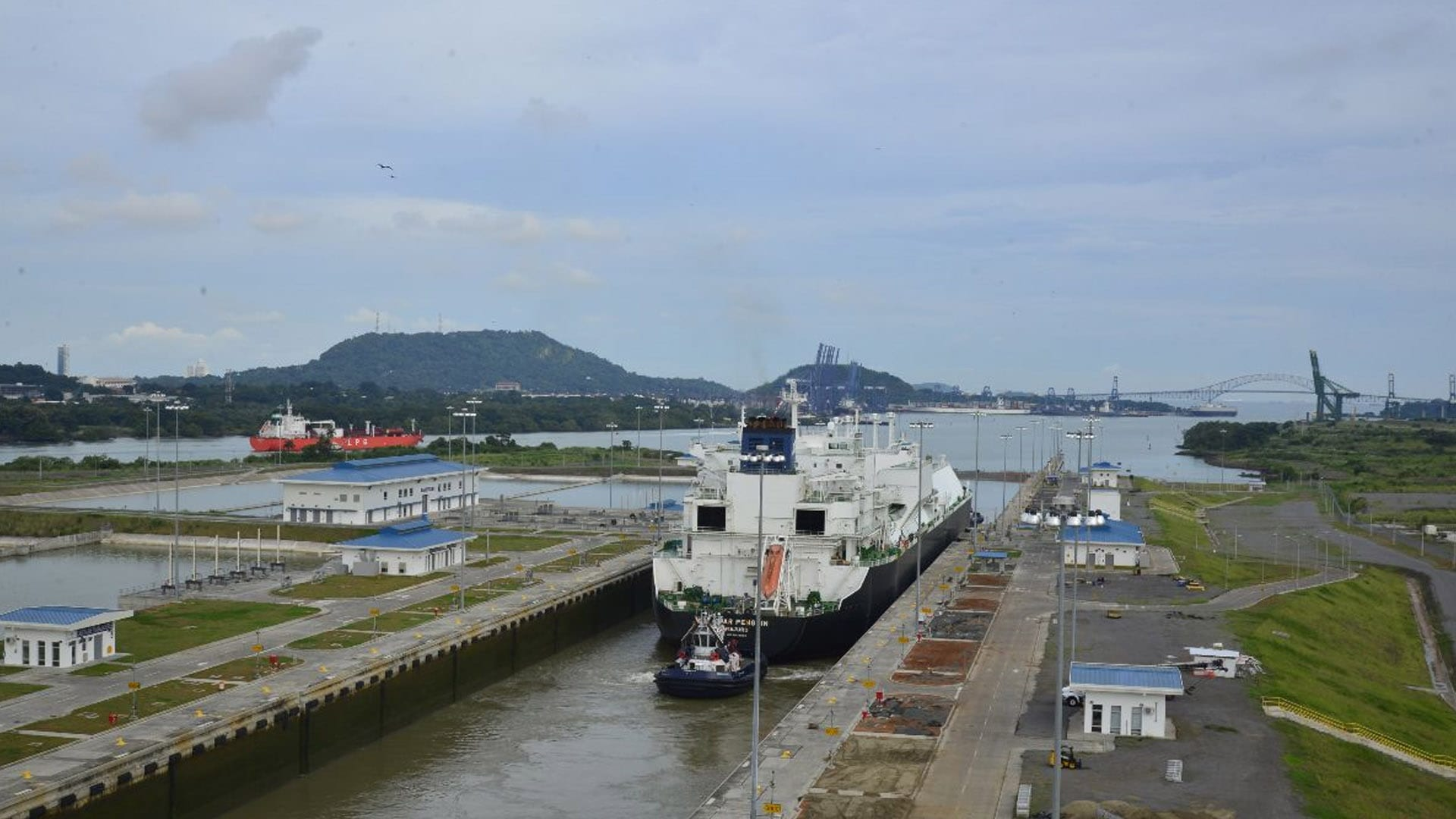 Panama Canal, AMP Upgrade Maritime Single Window