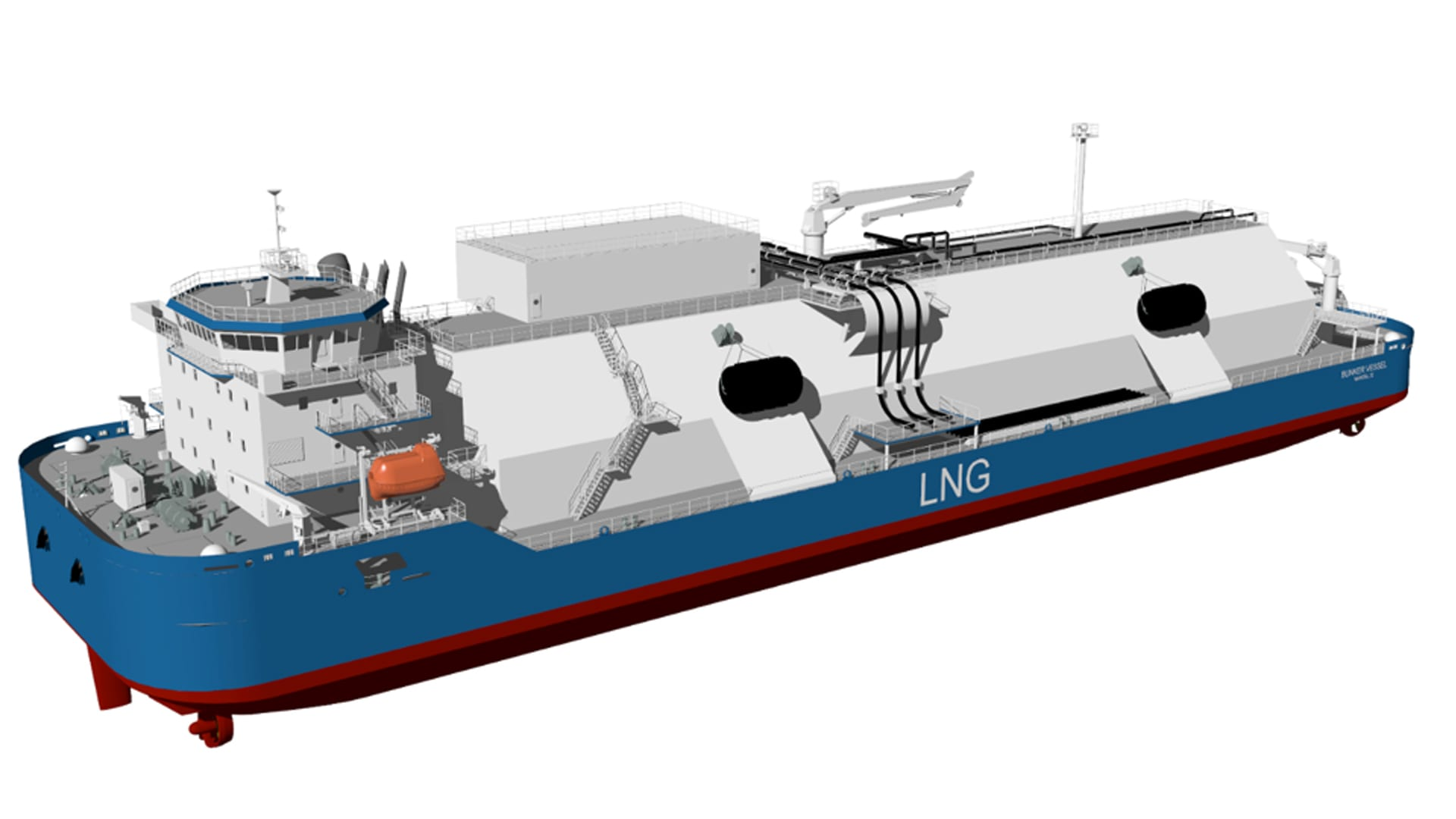Bureau Veritas Grants AIP for 19,000 cbm LNG Bunkering Vessel Design